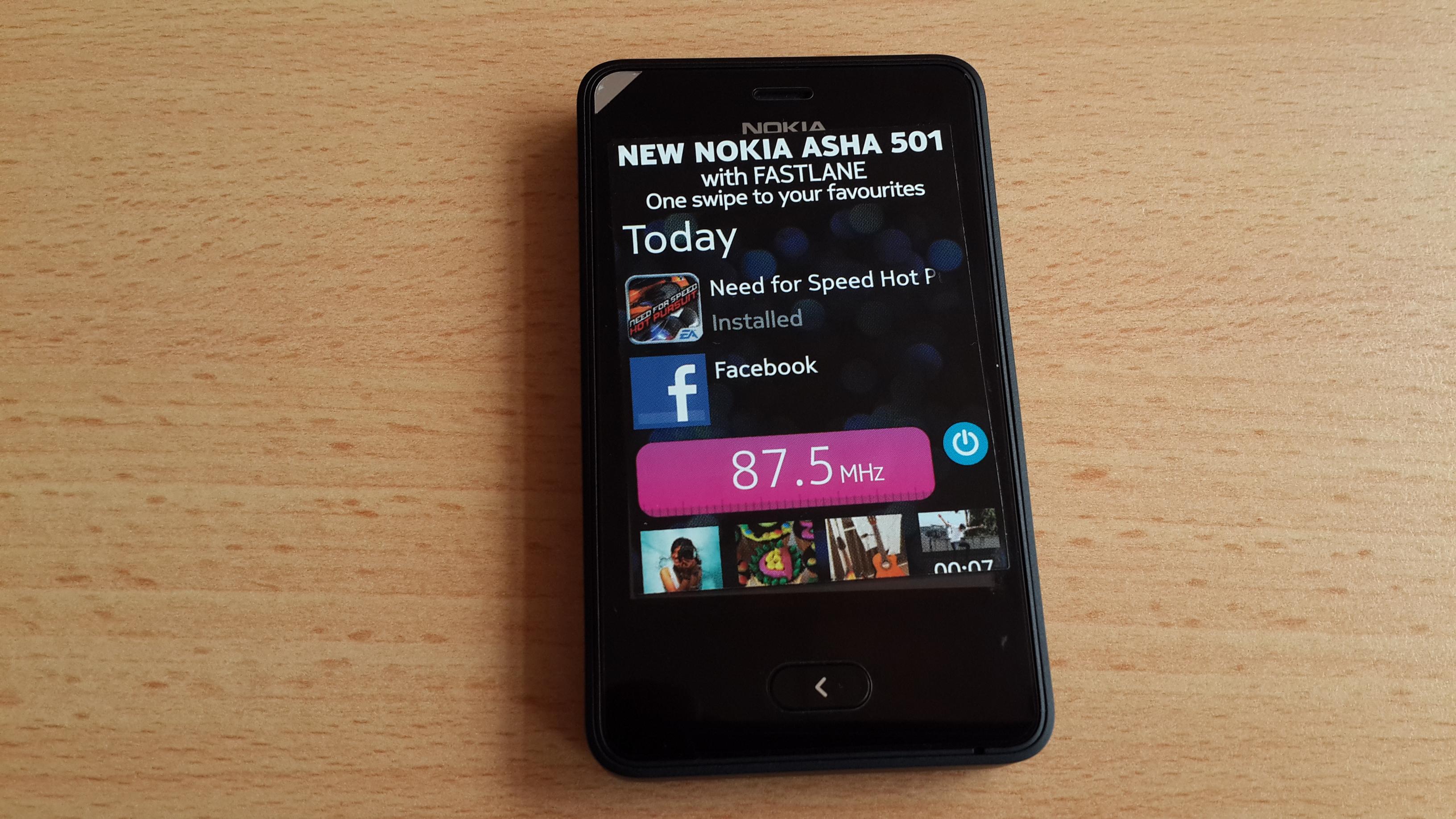 Nokia Asha 501 Dual SIM First Look [Gallery]
