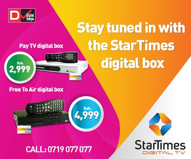 You can now get your StarTimes Set Top Box delivered at your