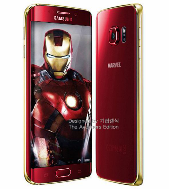Samsung galaxy s6 edge iron man limited edition launched in korea.