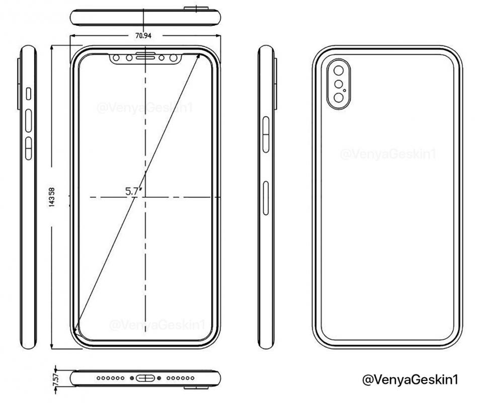 Iphone X Schematics