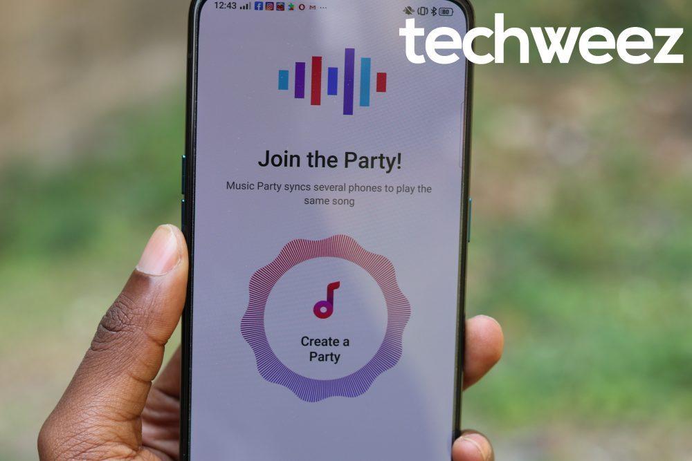 OPPO Reno 10x Zoom Clone Apps Music Party - Techweez